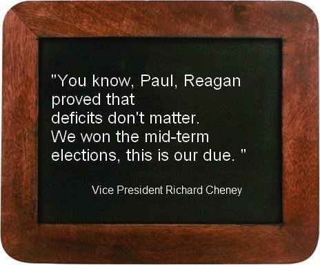 Deficits Don't Matter