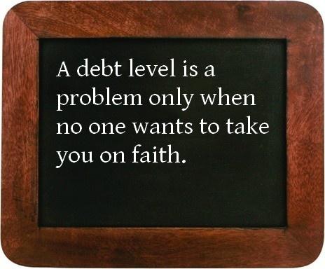 A debt level problem