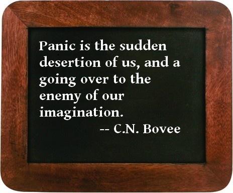 Panic Quote