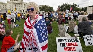 Tea Party crowd