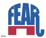 GOP Elephant Fear