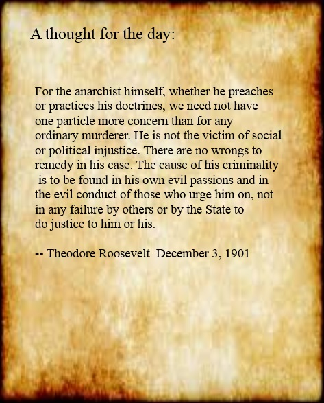 TR on Anarchism