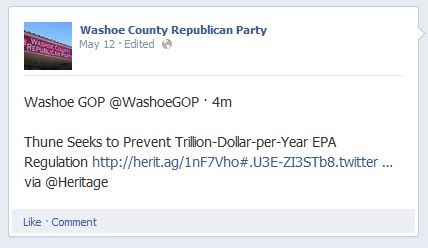 Washoe GOP EPA