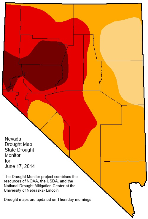 Drought Map June