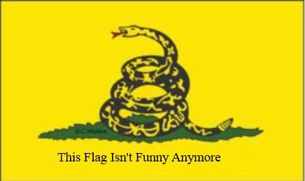 Gadsden Flag Not Funny