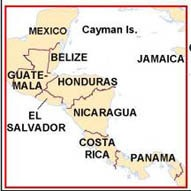 Central America Map 2