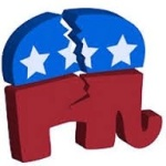 GOP Elephant Broken