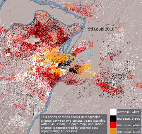 Map St Louis 2010