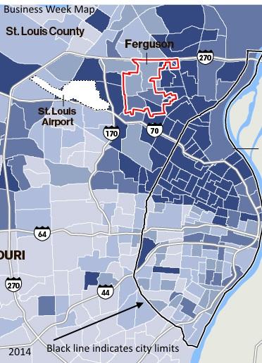 Map St Louis 2014
