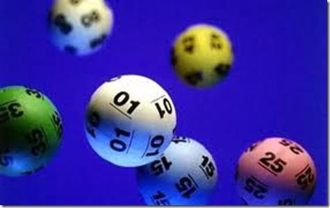 Number Lottery Balls