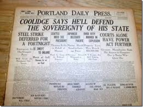 Coolidge Police Strike
