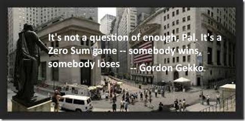 Gordon Gekko Quote