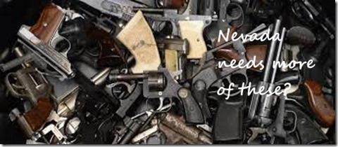 guns pile
