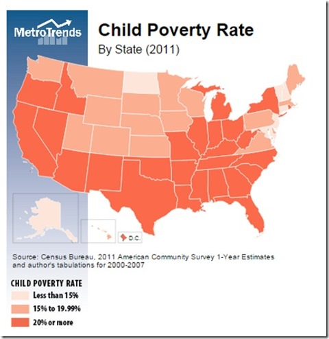 child poverty rate