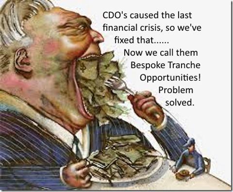 Wall Street Greed CDO