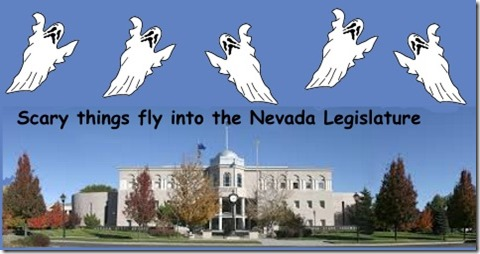 Nevada Legislature Scary Things