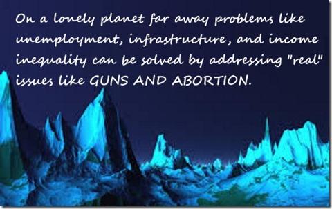 Alien Planet guns
