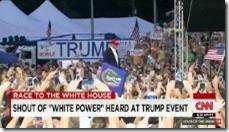 Trump white power