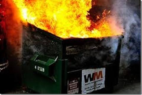 Dumpster Fire 1