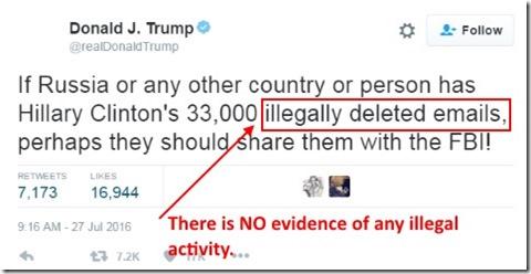Trump Cyber Attack Tweet