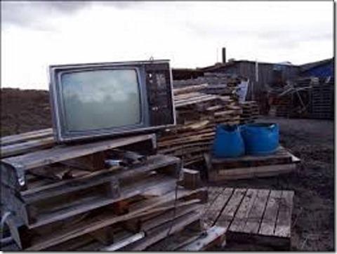 Television dump