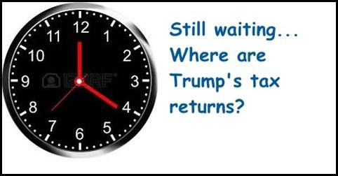 Clock Where are Tax Returns